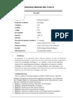 NEUROPSICOLOGIA II 2009-II