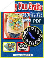 Family Fun Crafts 16 Craft Ideas for Kids eBook