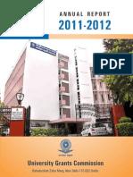 UGC Annual Report_2011-2012