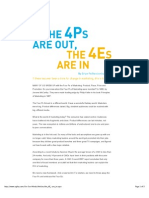 The 4Ps Are Out, The 4Es Are in _ Ogilvy & Mather