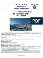 Sat Borgo Val Passiria