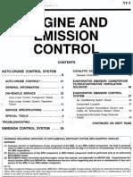 PT Cruiser Emission Control System