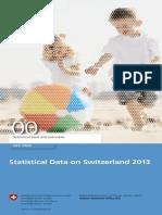 Statistical Data on Switzerland 2013