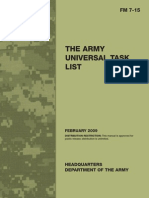 Fm7-15[1] the Army Universal Task List