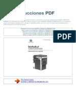 Manual de Instrucciones KONICA MINOLTA BIZHUB C353 S