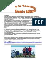 Giro Eremi Abbazie Toscana 2013