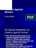 Violence Against Womenpowerpoint