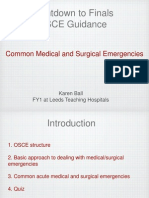 medical and surgical emergencies karen ball