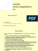 Vicent Pascual Proxecto