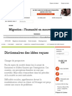 Dictionnaires des idées reçues - CCFD-Terre Solidaire