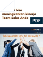 4 Hal Ini Bisa Meningkatkan Kinerja Team Sales