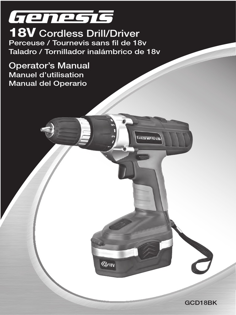power drill manual