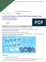 Regards de jeunes (de Desvres) sur la Migration (Chante ta Planète 2014) - Le CCFD-Terre Solidaire en Nord-Pas de Calais, Picardie, Champagne-Ardenne