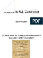 creating the constitution review from power point