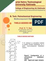 Thiele Geddes Method