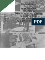 Nacistička politika denacionalizacije u Sloveniji 1941-1945