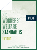 Sc Workers' Welfare Standards (Edition 1)
