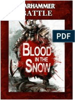 Blood in the Snow - Games Workshop Ltd