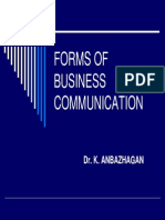 Business and  Communication
