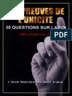 50 Question Reponse Aqida
