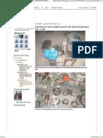 Proyecto de Fabricacion de Peletizadora de 10 Hp