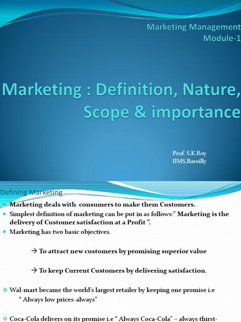 Marketing Management Sales Marketing