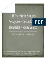 LIFE Si Raurile Europei