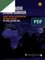 AmbassAdor Zhong JiAnhua China's special representative on African Affairs
