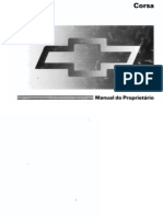 Manual do Proprietário - Corsa Hatch Super 1996-1997 MPFI