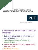 Cooperación internacional para el desarrollo y mediación intercultural (Tíscar Ortega Nogales)