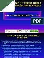 Separacao Terras Raras Solvente Jose Waldermar IEN
