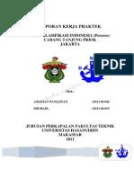 Laporan Kerja Praktek Biro Klasifikasi Indonesia Cabang Tanjung Priok - Jakarta