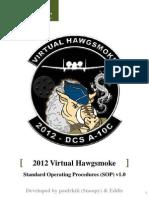 2012 vHawgsmoke SOP v1.0