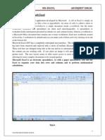 Excel Arunjeet