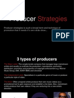 Producer Strategies
