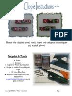 PDF Mini Clip Pie Instructions