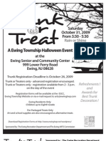 2009 Trunk or Treat Reg App Forms