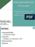 Barcamp Valencia - Interoperabilidad en la web