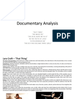 Documentary Analysis