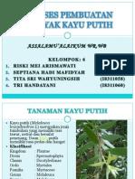 Presentasi Atsiri m.kayu Putih New