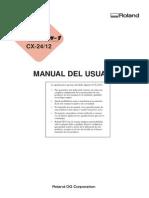 CX 12 24 Use ManualSP