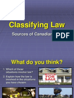 1 - classifying law