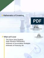 Mathematics of Investing