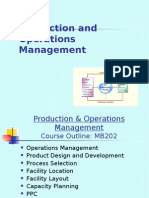 Operation & Production Management