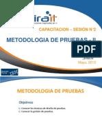 Metodologia de Pruebas - Sesion II