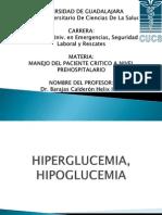 Hiper y Hipo Glucemias