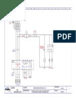 Diagrama de Control de Arranque de Motor 3kw-Model