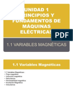 Variables Magneticas