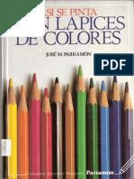 21667226 Asi Se Pinta Con Lapices de Colores On