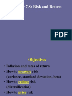 Risk in Return for Basic Finance